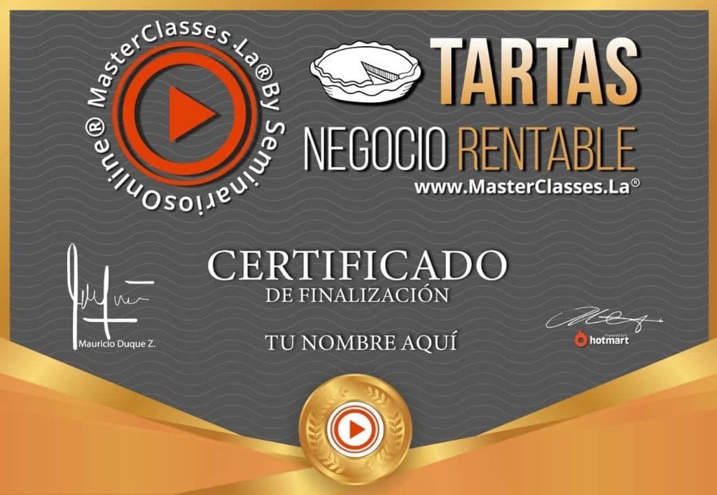 TARTAS NEGOCIO RENTABLE