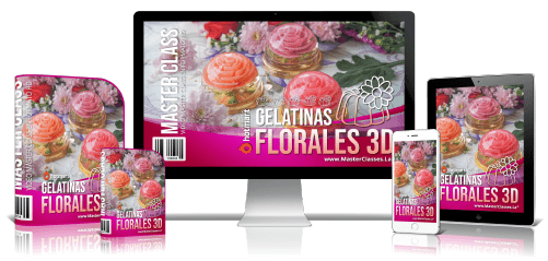 GELATINAS FLORALES 3D