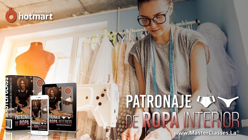 PATRONAJE DE ROPA INTERIOR
